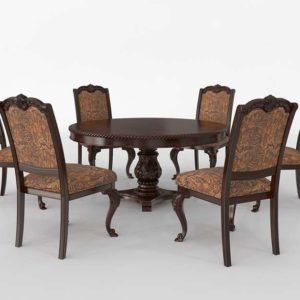 Oskarre III 7-Round Dining Set Design