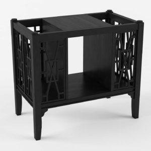 3D Magazine Table Wayfair Arhaus Astoria