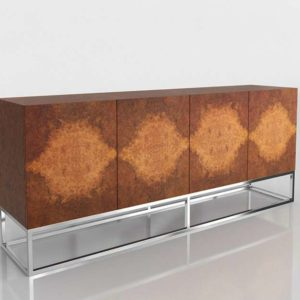 Mueble Consola 3D Williams Sonoma Wythe