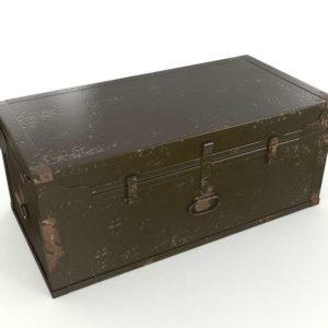 3D Trunk Vintage Box