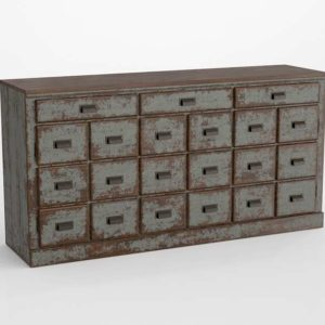 3D Console Chest Pottery Barn Clerk
