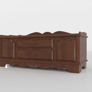 3D Wooden Chest DIY Luxury