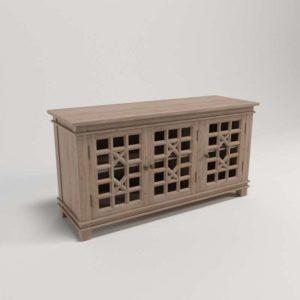Mueble Consola 3D Pottery Barn Luella