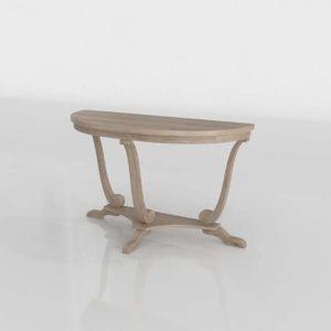 3D Console Table Wayfair Balisier