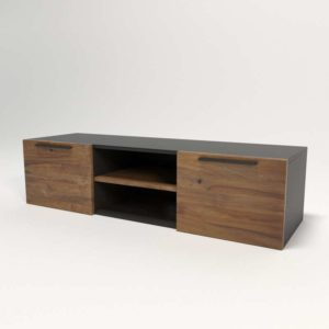 Mueble Consola 3D Crate&Barrel Rigby