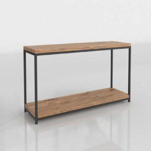 Mueble Consola 3D Home Decorators Anjou