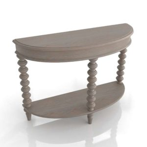 3D Console Table Classic Cypress