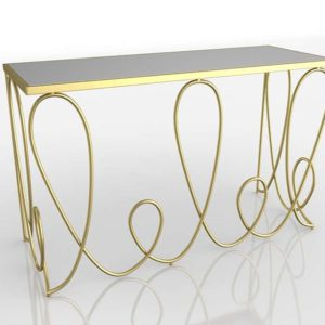 3D Console Table Neiman Marcus Sarah