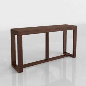 Watson Console Table 3D Model