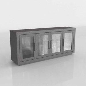 Modelo 3D Mueble Consola 3D La Salle