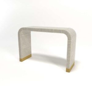 Waterfall Console Table 3D Model