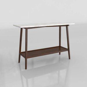 Trinidad Console Table 3D Model