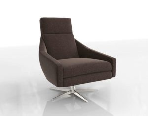Austin Swivel Armchair West Elm