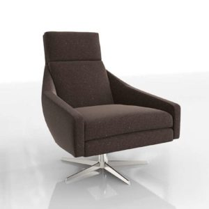 3D Swivel Armchair West Elm Austin