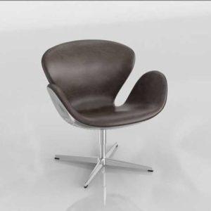3D Armchair Modern Design