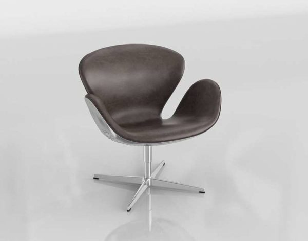 3D Swivel Chair Modern Design