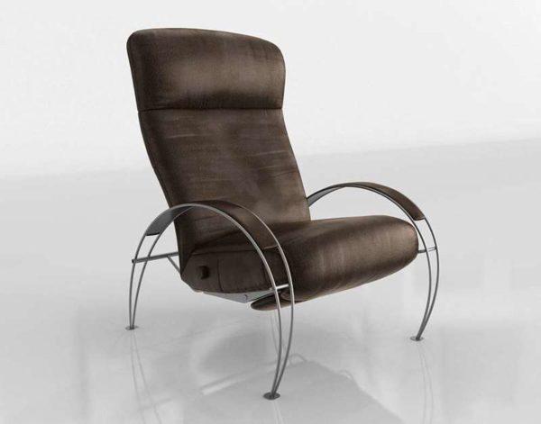 Sillón 3D Reclinable Home Billie Furniture