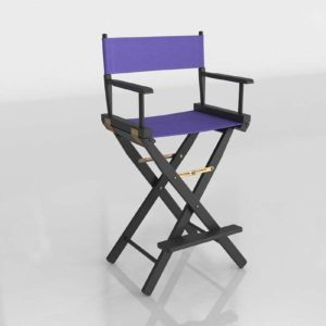 Black Fram Directors Chair Overstock