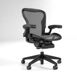3D Desk Chair Herman Miller Aeron