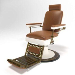 3D Chair Classic Barber Shop Furniture