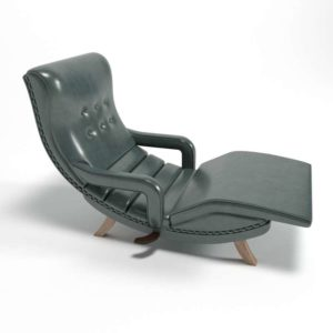 3D Lounge Chair Sophisticated Divan