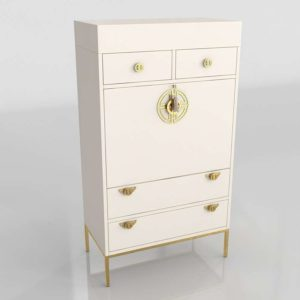 Brass Key Secretary Desk Anthropologie