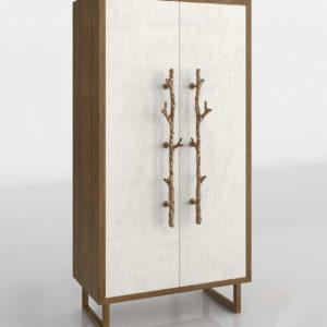 Wes Hallwood Cabinet 3D Model
