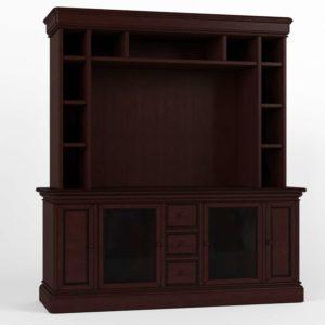 Modelo 3D Mueble para Televisor 3D Coimbra