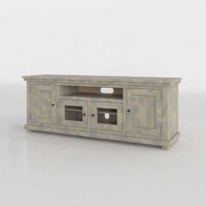 Modelo 3D Mueble para Televisor 3D Sinclair