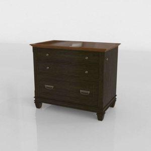 Verona Filing Cabinet 3D Model