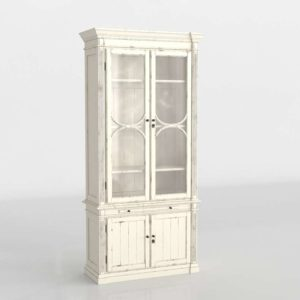 West Sonora Display Cabinet 3D Model