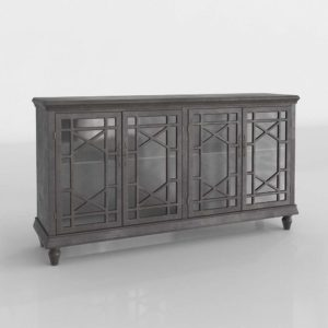 Modelo 3D Mueble para Televisor 3D Lowry