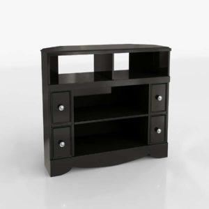 Modelo 3D Mueble para Televisor 3D Shay