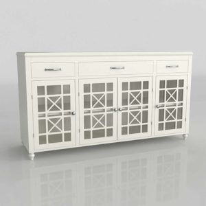 Modelo 3D Mueble para Televisor 3D Hardim