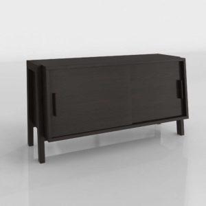 Modelo 3D Mueble para TV 3D Sawyer