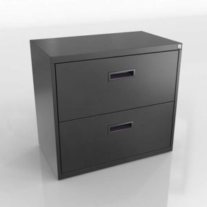 Walt Filing Cabinet 3D Model
