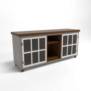 Modelo 3D Mueble Televisor 3D Valentine
