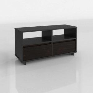 Modelo 3D Mueble Televisor 3D Sauder