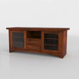 Modelo 3D Mueble para TV 3D Borger