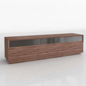 Modelo 3D Mueble para Televisor 3D Shaker