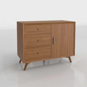 Parocela 3 Drawer Accent Cabinet Wayfair