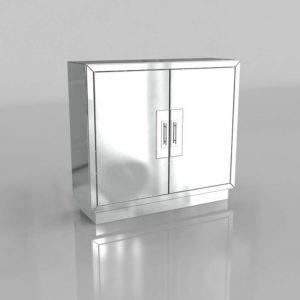 Modelo 3D Armario 3D Lily Mirrored