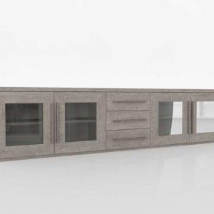 Modelo 3D Mueble Televisor 3D Eri Light