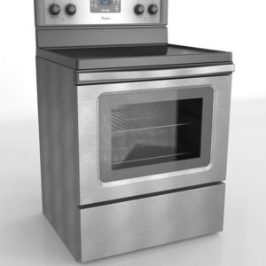 Electric Range With Self Cleaning System Whirlpool