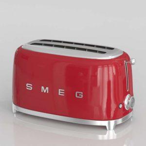 Smeg Red Retro Toaster