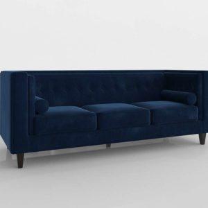 Sofá 3D All Modern Roberta Chesterfield