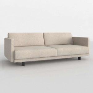 Sofá Cama 3D Design Within Reach Tuck