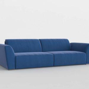 Modelo 3D Sofá Soker Azul