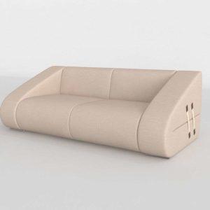 Modelo 3D Sofá Baluma