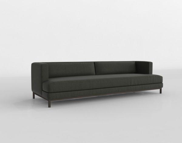 Sofá 3D CB2 Brava